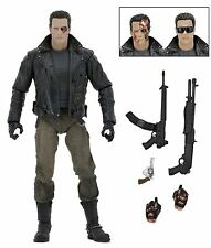 "Terminator T800 Ultimate Police Station - 7"" Scale Figure- Limited Edition -NECA"