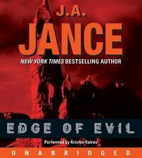 Edge of Evil CD 2008 by J. A. Jance 0061684368 ExLibrary