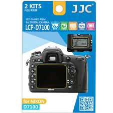 JJC LCP-D7100 ultra hard polycarbonate LCD Film Screen Protector NIKON D7100 2PK