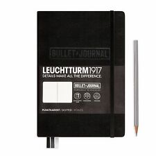 NEW Leuchtturm1917 Notebook Medium A5 Bullet Journal Edition 240 Dotted Pages