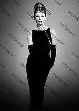 Breakfast at Tiffany's Movie Wall Art Print of the Beautiful Audrey Hepburn