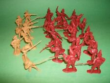 BMC 1/32nd 54mm Revolutionary War Battle Of Lexington Green Soldiers Set