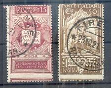 ITALIEN 1921 141,143 EXTREM verzähnt (N2288
