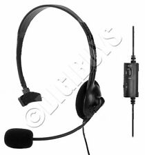 Wired Headset Headphones Earphones  Microphone Mic for Playstation 4 PS4 UK