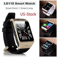 Waterproof LG118 Smart Watch Bluetooth SIM GSM Phone For iPhone Samsung US Stock