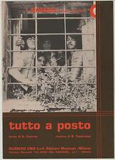 I NOMADI tutto a posto spartito sheet music un disco per l'estate '74