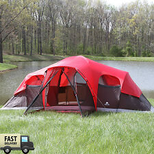 Trail Camping Tent 10 Person 2 Removable Room Instant Cabin Outdoor Camping New