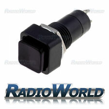 Black Momentary OFF-(ON)  Square Push Button Switch SPST 12v Car Dash Horn