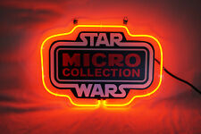 """Brand New Star Wars Micro Collection Real Neon Light Sign 13""""x9"""" [High Quality]"""