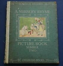 Rare Antique Copy of A Nursery Rhyme Picture Book Number Two Leslie Brooke