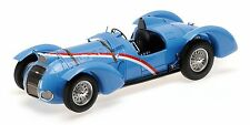 Delahaye Type 145 V-12 Grand Prix 1937 Blue 1:18 Model 107116100 MINICHAMPS