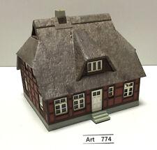"""Kibri B-8232 H0 Haus """"Heike"""" mit Reetdach, gut geklebt, 1:87, sehr selten & RAR"""