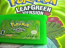 Unlocked AUTHENTIC LeafGreen All 386 Legit Legal Pokemon Nintendo DS GBA