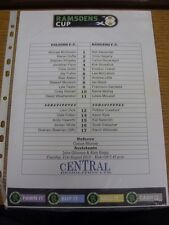 21/08/2012 Colour Teamsheet: Falkirk v Rangers  . Thanks for viewing our item, i