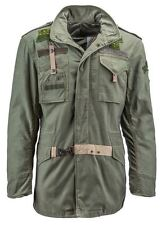 Alpha Industries 50th Anniversary M-65 Field Coat in Olive - X-Large - NEW