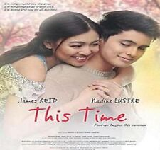 THIS TIME - NADINE LUSTRE JAMES REID TAGALOG FILIPINO MOVIE - NEW RELEASE DVD