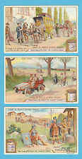 LIEBIG - RARE SET OF 6 CARDS -  S 797  /  F 801  -  STREET  SCENES  -  1904