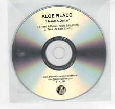 (GN857) Aloe Blacc, I Need A Dollar - DJ CD