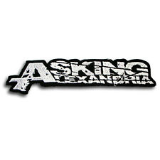 Asking Alexandria Patch Iron on Heavy Metal Punk Band Biker Rider Core Vest Logo