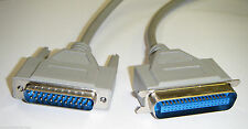 DB25 to C36 Parallel Centronics Printer Cable Lead