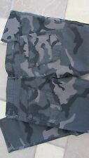 NEW ARIZONA SKINNY CAMO JEANS MENS 32X30 BLACK/GRAY CAMO SLIM FIT  FREE SHIP!