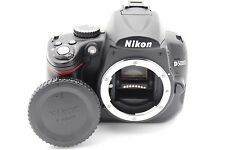 NIKON D5000 12.3MP 2.7''SCREEN DIGITAL SLR CAMERA BODY W/ BATTERY