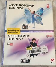 Adobe Photoshop Elements 7 & Adobe Premiere Elements 7 for the PC