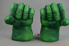 2x Incredible Hulk Smash Hands Plush Gloves Games Free shipping