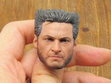 Custom 1/6 Scale DOFP Hugh Jackman Wolverine 4.0 Head Sculpt For Hot Toys Body