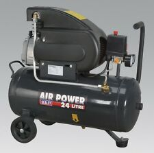Sealey SAC2420E Compressor 24ltr Direct Drive 2hp