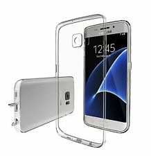 Taken Samsung Galaxy S7 Edge Case, Silicone Soft TPU Transparent Cover - Clear