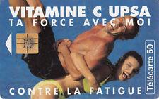 France télécarte 50  Vitamine C UPSA ta force avec moi