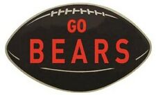 "Chicago Bears   Vintage-Looking  1950's  ""Go Bears""  Die-Cut   Sticker"