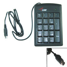 PURE PS/2 Numeric Keypad Numpad Number Mini Pad Keyboard