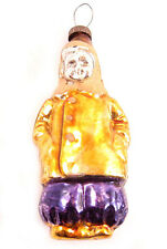 BOY Russian Soviet Christmas Glass Ornament Decoration 50s