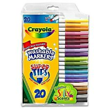 Crayola Super Tip Washable Markers 20 ea