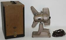 REVERE 1940s Model P-90 8mm Projector with Original Case Collectible WORKING