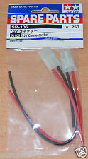 Tamiya 50106 7.2V Connector Set (Battery/ESC/MSC/Speed Controller), NIP