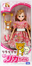 Takara Tomy Licca Doll LD-15 Rilakkuma Dress Set (867647)