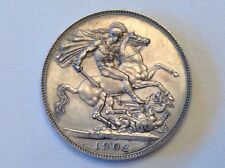 - 1902 Great Britain Edward VII One Crown Choice Matte Proof  -Sale Priced!