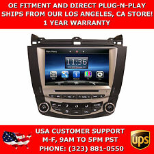 In Dash Navigation Navi GPS Radio OE Fitment Plug and Play Radio for Accord