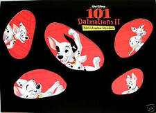 NEW Disney's 101 Dalmations Lithograph Portfolio Set of 4 Lithographs Pixar