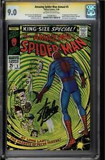 AMAZING SPIDER-MAN ANNUAL #5 OWW CGC 9.0 STAN LEE SIG SERIES CGC #1025487028