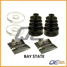 2 Front Inner Mazda 626 MX-6 Toyota Camry CV Joint Boot Kits Bay State G56522540