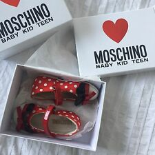 Moschino Girls Shoes