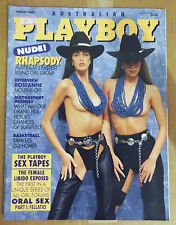 PLAYBOY August 1993 Vintage Mens Magazine Kimberly Donley Rare Collectible