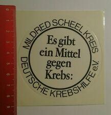Aufkleber/Sticker: Deutsche Krebshilfe Mildred Scheel Kreis (20081649)