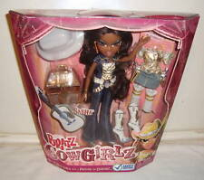 BRATZ COWGIRLZ SASHA MIB DOLL RARE WITH DANGEROUSLY COOL ACCESSORIES!