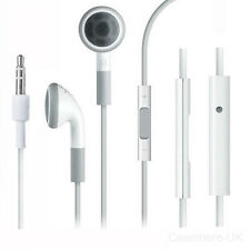 Apple Headphones Earphones PHF With Mic & Remote For iPhone 5 /4 /4S /3GS /iPad