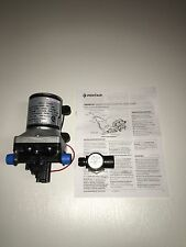 New SHURflo 12V 3.0 GPM RV Water Pump 4008-101-A65 Revolution with Strainer
